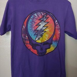 Other - Grateful Dead Graphic Band Tee deadhead Skull